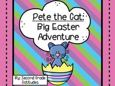 Pete is back and the Easter Bunny needs his help! This product is a great companion to the book, Pete the Cat: Big Easter Adventure. If you are looking for something fun and engaging to do with your students leading up to your Easter Holiday, Pete the Cat and this product will not disappoint you.