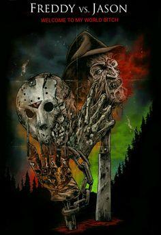 Freddy Vs Jason Horror Movie Slasher