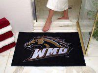 Western Michigan University AllStar Nylon NCAA Doormat