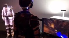 At Sony's recent Playstation event they demonstrated the 'synesthesia suit' for the new Playstation VR game Rez: Infinite.  This suit has 26 transducers that pulse and vibrate dif…