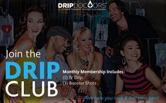 Join the Drip Club! - Join the Drip Club! Get extra savings and exclusive monthly offers!  Each month, you can choose one of any signature IV Drip and three Booster Shots💧💉 We are your one-stop shop, catering to all of your health, wellness and beauty needs. Now, you can have it all! Get your weekly dose! Join Now! 💯 Book Now! la.dripdoctors.com or ☎(213)749-DRIP 💧😄 #dripdoctors #dripwithus #IV #vitamins #vitamintherapy #PushIt #drip #club #health #wellness #
