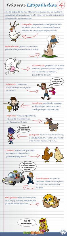 Palavras Estapafúrdias #4   Mentirinhas - Tirinhas do Coala