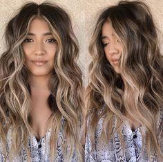 Blonde Hair With Highlights, Balayage Hair Blonde, Brown Blonde Hair, Brunette Hair, Face Frame Highlights, Blonde Honey, Honey Balayage, Bronde Balayage, Caramel Blonde