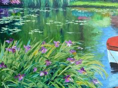 Famous Paintings Water Lilies | ... paintings,water lilies landscape series for deco-10(China (Mainland