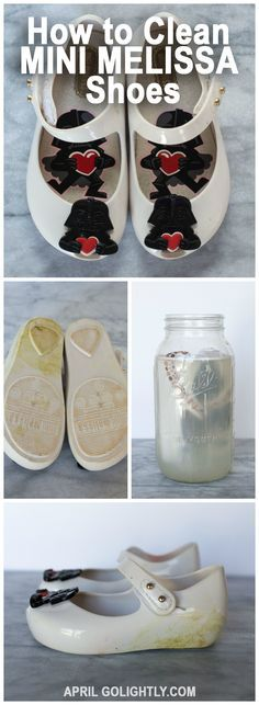 How to Clean Mini Melissa Shoes