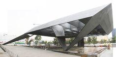 Sculptural Steel Roof, Theatre Cervantes, Mexico City