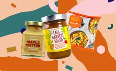These are all the best healthy things you can buy at Trader Joe's in the fall of including maple butter, bone broth, and turmeric juice. Healthy Protein, Healthy Snacks, Healthy Eating, Healthy Recipes, Best Trader Joes Products, Turmeric Drink, Butternut Squash Risotto, Organic Maple Syrup, Healthier Together