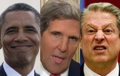 Global WarmingClimate Change high priests Barack Obama, John Kerry and Al Gore, as well as all Democrats have been aggressively pushing the junk science, all as a deceptive attempt to feed their political greed and give government more control over our lives.Largely ignored by the leftstream media is the fact that NOAA/NASA altered US temperatures…