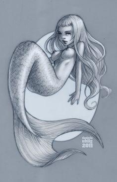 Mermaid by Daniela Uhlig