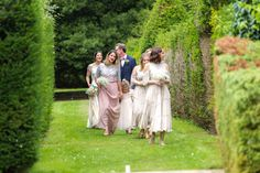 Wedding of the Week: Megan Falconer-Taylor and Julian Wolpe's tipi wedding in East Sussex | Muted tone bridesmaids' dresses | bridemagazine.co.uk