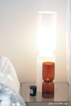 Iittala Lantern candleholder and lamp. Via Char and the City.
