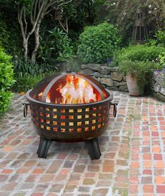 "Landmann 26360 26"" GARDEN LIGHTS Savannah Fire pit – The Fire Pits Store"