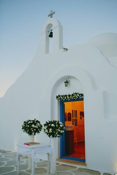 Agios Konstantinos chapel. Mykonos exclusive weddings .