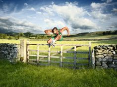 Hurdler photographed by Chris Frazer Smith- ONE EYELAND