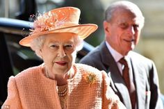 Nobless & Royautés:  The Duke of Edinburgh and Queen Elizabeth celebrated the 150th anniversary of St George's Chapel (modern version) at Windsor, April 9, 2014