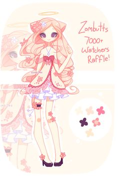 . { CLOSED: 7000+ WATCHERS RAFFLE! } . by Zombutts on DeviantArt