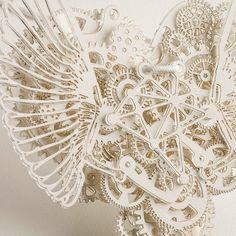 mechanical papercraft.Tjep(Frank Tjepkema)'s Art work