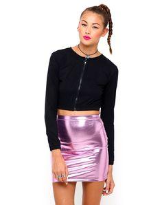 Motel Lizard Bodycon Mini Skirt in Lavender Shiny Spandex, TopShop, ASOS, House of Fraser, Nasty gal Nasty Gal, New Fashion, Sequin Skirt, Lavender, Mini Skirts, Topshop, Satin, Spandex, Style Inspiration