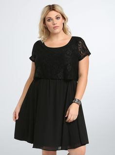 Shop Plus Size Cocktail Dresses in gorgeous styles & colors. Find black, white, blue, pink, floral & more styles of Cocktail & Dinner Party Dresses at Torrid. Dress Silhouette, Chiffon Skirt, Lace Bodice, Latest Dress, Passion For Fashion, Plus Size Dresses, Plus Size Fashion, Party Dress, Bodycon Dress
