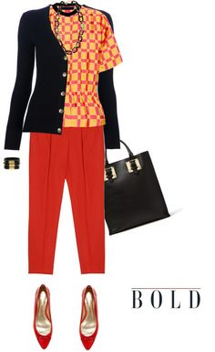 """""""Cardigan by TORY BURCH"""" by fashionmonkey1 ❤ liked on Polyvore"""