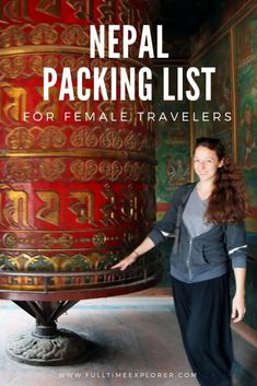 Nepal Packing List for Female Backpackers.
