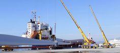 MOTRIL. El puerto de Motril ha exportado hasta septiembre un 23,7 por ciento más de palas eólicas que en todo el año pasado, situándose en 656 unidades frente a las 530 de 2015.