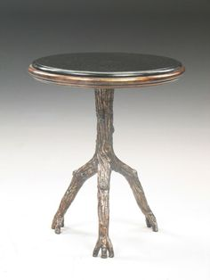 SCATTER TABLE, CORTEZ, BRONZE, D61X71H - Marco Polo - Antiques online -