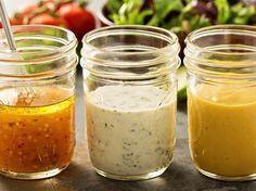 3 Rezepte für kalorienarme Salatdressings