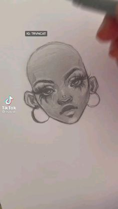 Art Drawings Beautiful, Art Drawings Sketches Simple, Eye Drawing Simple, Art Painting Gallery, Painting & Drawing, Sketches Tutorial, Drawing Hair Tutorial, How To Draw Hair, How To Draw A Nose