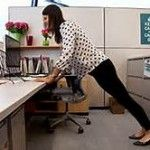 Break-Time! Do this exercise without leaving your office!