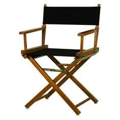 Newport 30-in. Bar Height Directors Chair Hunter Green Honey Oak - 230-05/021-32, Durable