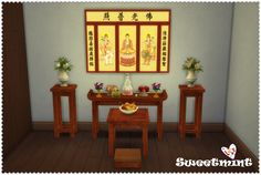 Sims 4 CC's - The Best: Furniture by SweetMint