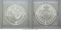 RITTER Spanien, 10 Euro 2014, Weltmeisterschaften im Schießen 2014, PP #coins #numismatics