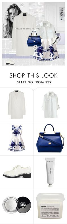 """Someday my prince will come."" by e-laysian ❤ liked on Polyvore featuring GET LOST, Lanvin, Dolce&Gabbana, Byredo, Chanel and Davines"