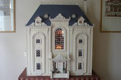Las minis de belen. - french chateau doll house