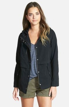 Hinge Hooded Canvas Jacket available at #Nordstrom