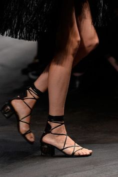 ad19ea1929bc4 The Best Shoe Trends of Spring 2016. Gladiator Sandals ...