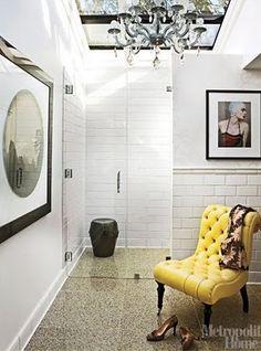 Walk in shower, subway tile again