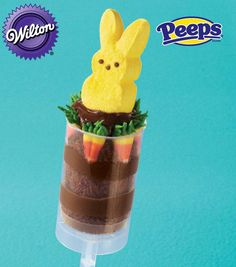 PEEPS Marshmallow Bunny Treat Pop from @Wilton Cake Decorating Cake Decorating