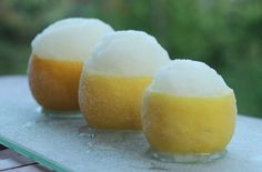 Beat the heat with this refreshing summer sorbet recipe made with fresh limoncello