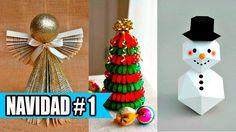 ESPECIAL NAVIDAD # 1: DIY Manualidades Fáciles para Navidad | CHRISTMAS # 1: DIY: Christmas Crafts - http://cryptblizz.com/como-se-hace/especial-navidad-1-diy-manualidades-faciles-para-navidad-christmas-1-diy-christmas-crafts/