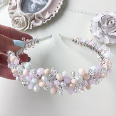 Headband Hairstyles, Girl Hairstyles, Wedding Hairstyles, Fascinator, Headpiece, Jeweled Headband, Jewelry Christmas Tree, Hair Vine, Silver Hair
