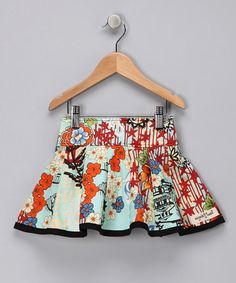 Take a look at this Blue Koto Twist & Twirl Skirt - Infant, Toddler & Girls by Magnolia Twist on #zulily today!