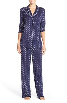 Nordstrom+'Moonlight'+Pajamas+available+at+#Nordstrom Pink and blue