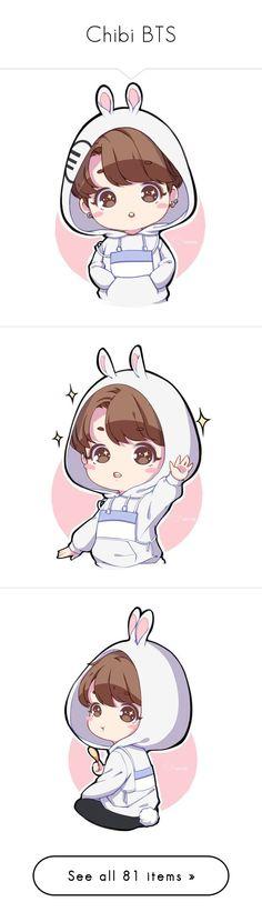 """Chibi BTS"" by jungshook ❤ Anime W, Fanarts Anime, Anime Chibi, Jungkook Fanart, Kpop Fanart, Bts Bangtan Boy, Jungkook Oppa, Bts Chibi, K Pop"