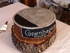 Copenhagen Cake. Amanda, you should make this for your father for his birthday.