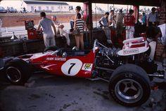 #Kyalami 70 Il box #Surtees