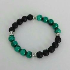 Informations About Malachit Armband Herren Armband Lava Rock Stone Armband Perlen Armband Malachite bracelet Mens bracelet Lava Rock Stone bracelet Beaded bracelet Malachit Armband. Lava Bracelet, Gemstone Bracelets, Bracelets For Men, Bracelet Making, Jewelry Bracelets, Jewelry Making, Diamond Bracelets, Diffuser Jewelry, Bijoux Diy