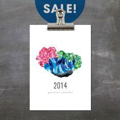 º SALE º 2014 Gemstone Calendar by GramercyStudio on Etsy, $16.50