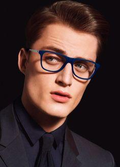 Emporio Armani Spring/Summer 2014 Eyewear Campaign